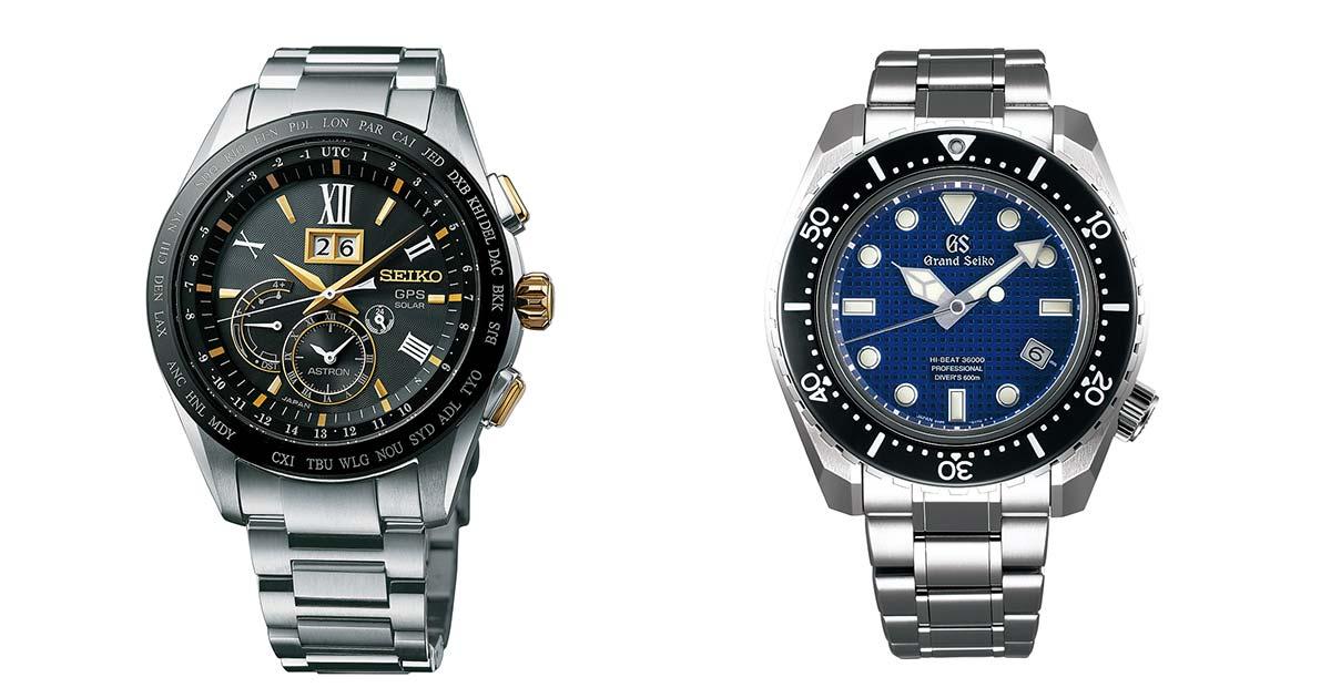 Neues aus Basel: Seiko bringt neue Grand Seiko und Seiko Astron GPS auf den Markt.