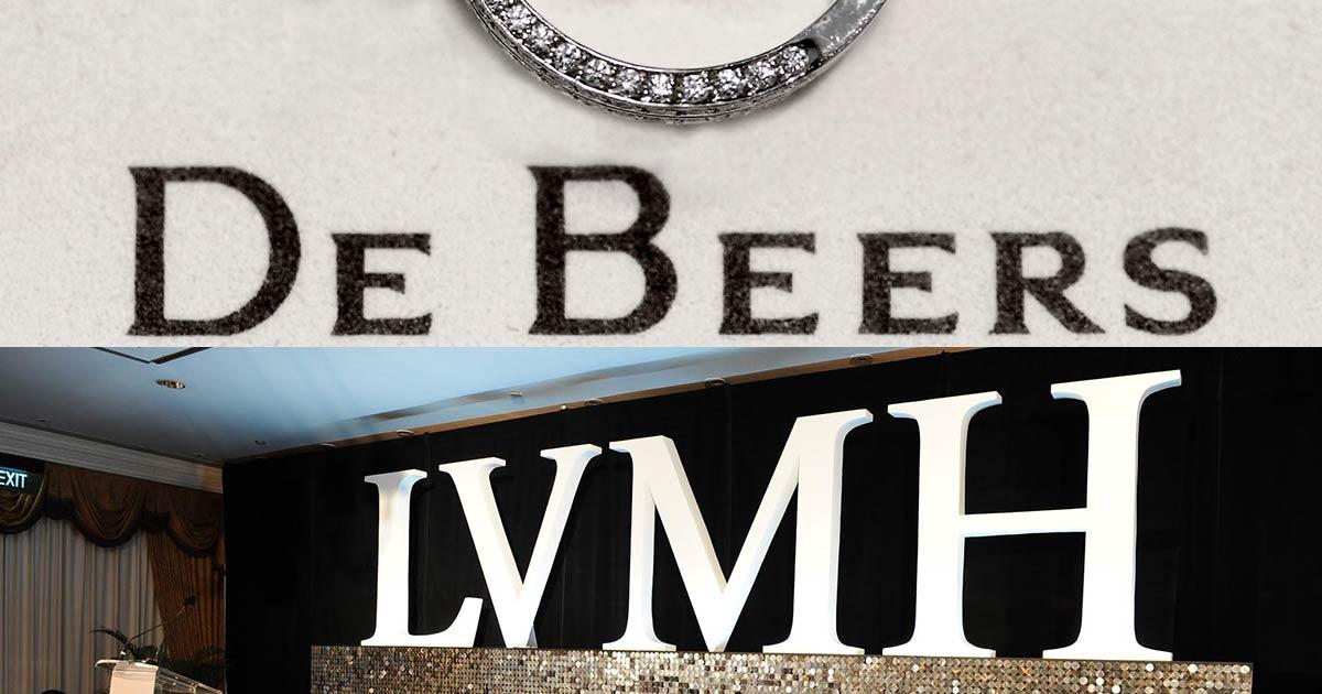 LVHM erzielte eine Einigung über den Verkauf seiner Anteile an dem Joint Venture De Beers Diamond Jewellery (DBDJ) an seinen gleichwertigen Partner, den südafrikanischen Diamanten-Giganten De Beers