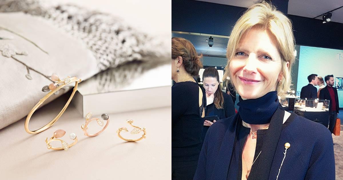 Auch Designerin und Tochter des Gründers Charlotte Lnyggaard ist in Basel mit dabei und präsentiert ihre neuesten Kreationen ...