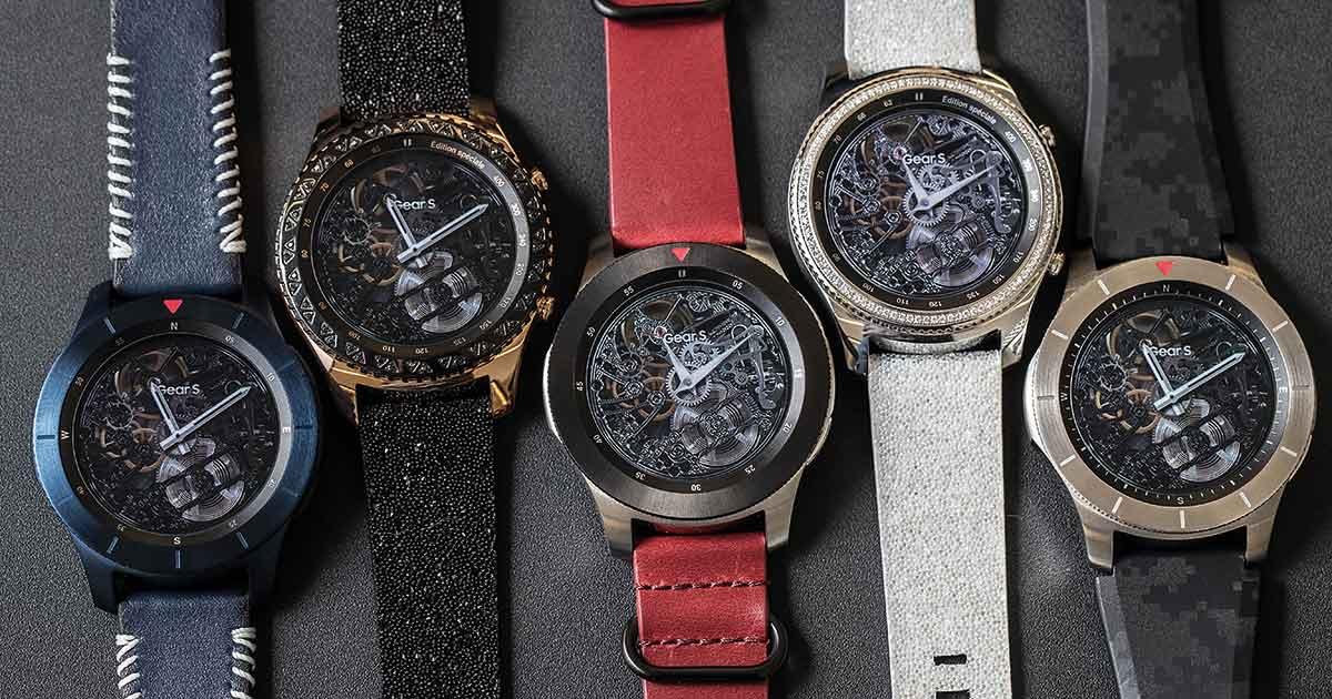 Neue Bandvarianten und Uhrenkonzepte: Samsung stellt sich in Basel stark auf.