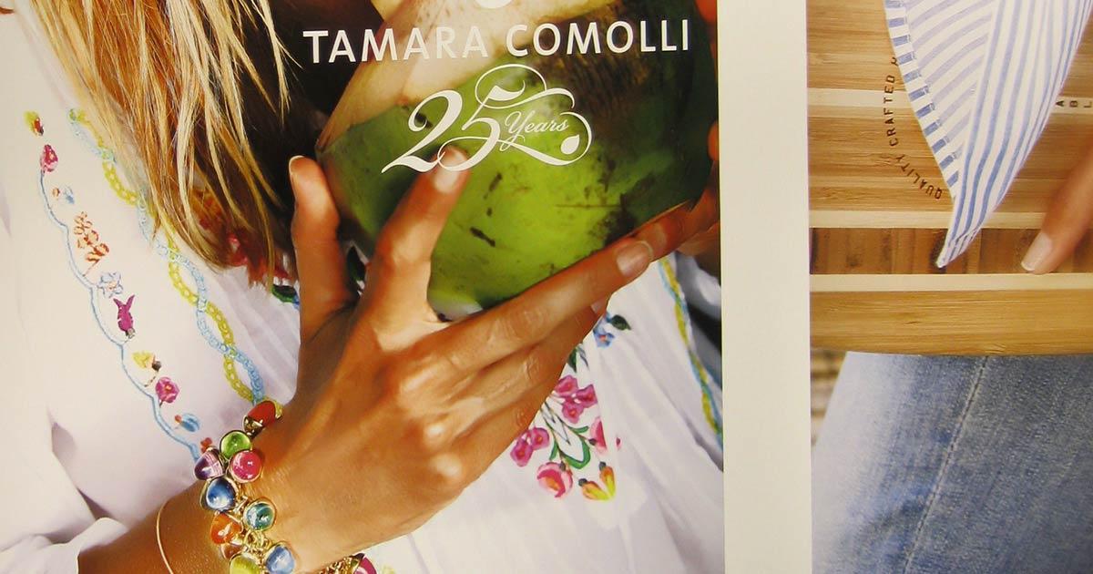 Designerin Tamara Comolli feiert in diesem Jahr ihr 25-Jahr-Jubiläum – auch auf der Baselworld.