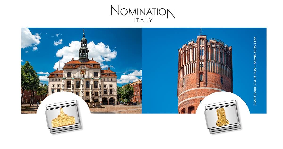Nomination setzt für die individuellen Composables-Elemente auf das Stadtbild prägende Wahrzeichen.