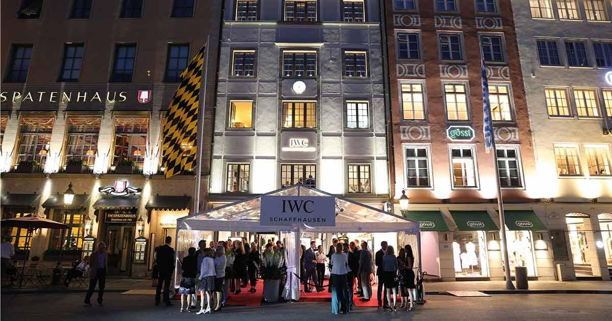 In bester Lage, nahe der Oper, eröffnete Ende Juni die zweite IWC Boutique in München.