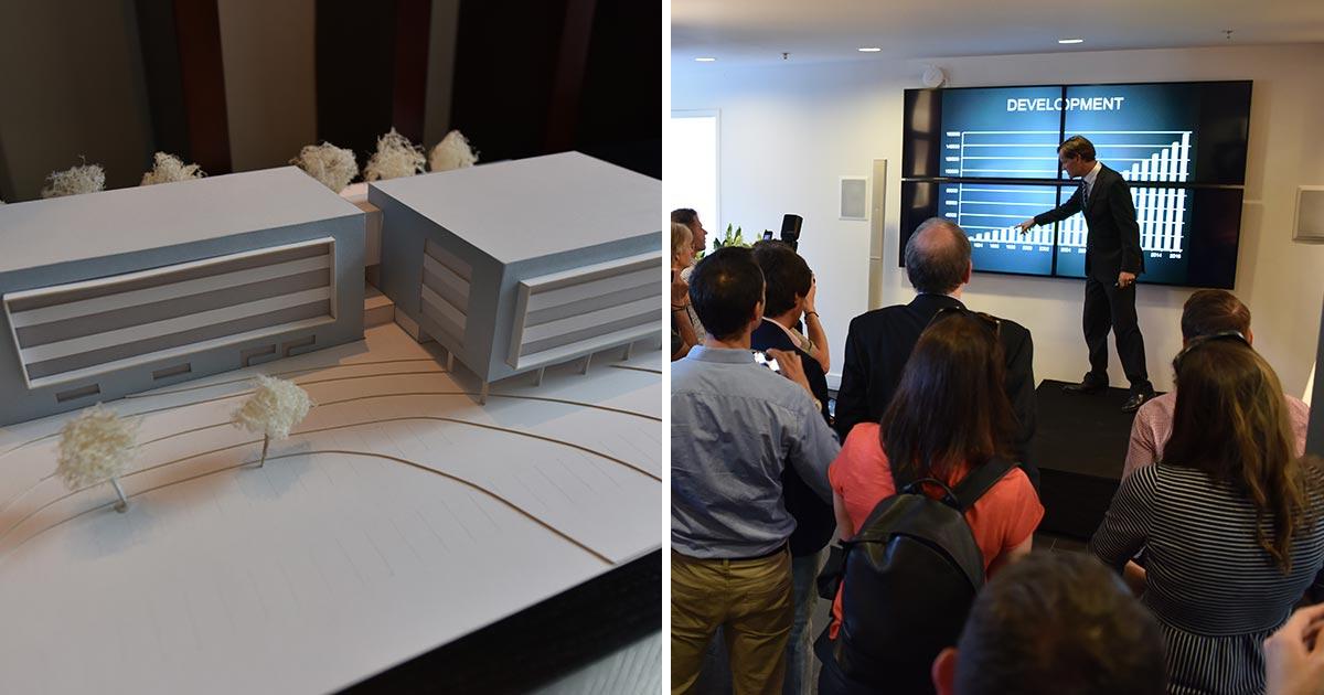 """Die Frederique Constant Group baut an: """"Das zweite Manufakturgebäude wird eine Fläche von 3.000 Quadratmetern besitzen."""" Peter Stas."""