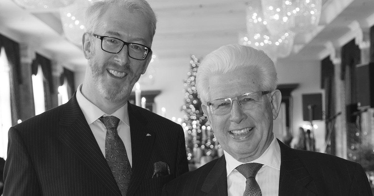 Im vergangenen Jahr feierte Gehard Leicht im Kreise seiner Liebsten seinen 80. Geburtstag mit einem großen Fest. Sohn Georg (l.) übernahm das Geschäft von seinem Vater und führt es bis heute.
