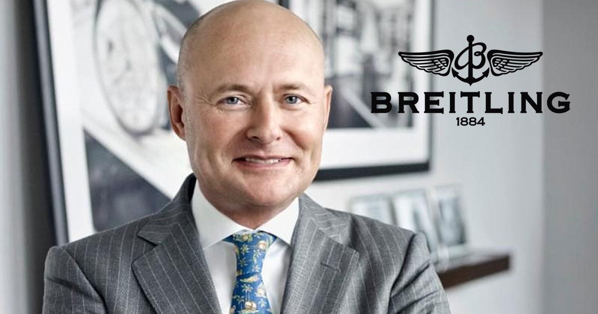 Jetzt ist die Katze aus dem Sack: Georges Kern ist neuer Chef von Breitling!