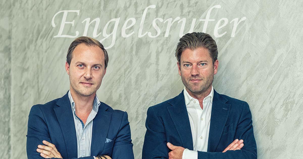 """Neben Thomas Ferstl (links) wird nun auch Oliver Besta (früher Bulova, Skagen, Fossil, Esprit) den Vertrieb der Martini-Marken rund um Engelsrufer übernehmen. Was sich ändert, berichten sie im Gespräch mit """"Blickpunkt Juwelier""""."""