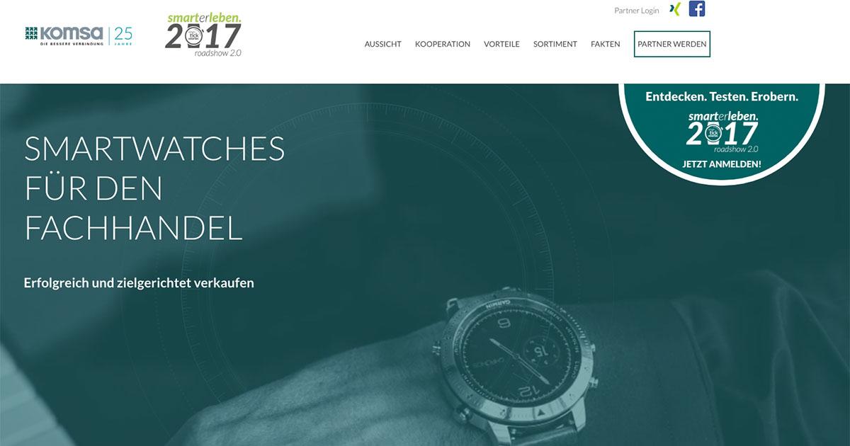 Die smarterleben-Roadshow 2.0 soll Juwelieren zum Start ins Weihnachtsgeschäft einen Überblick über die Smartwatch-Neuheiten bieten.