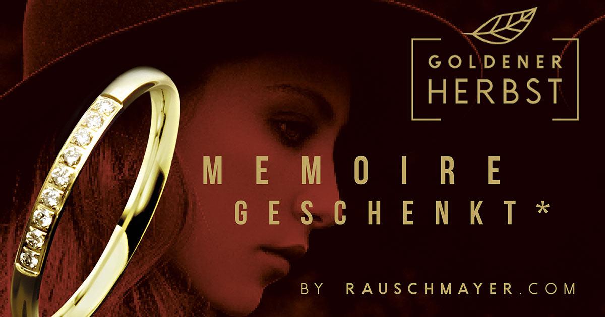 """Die Aktion """"Goldener Herbst by Rauschmayer"""" soll den Verlobungs- und Trauringumsatz in den schwächeren Herbstmonaten ankurbeln."""