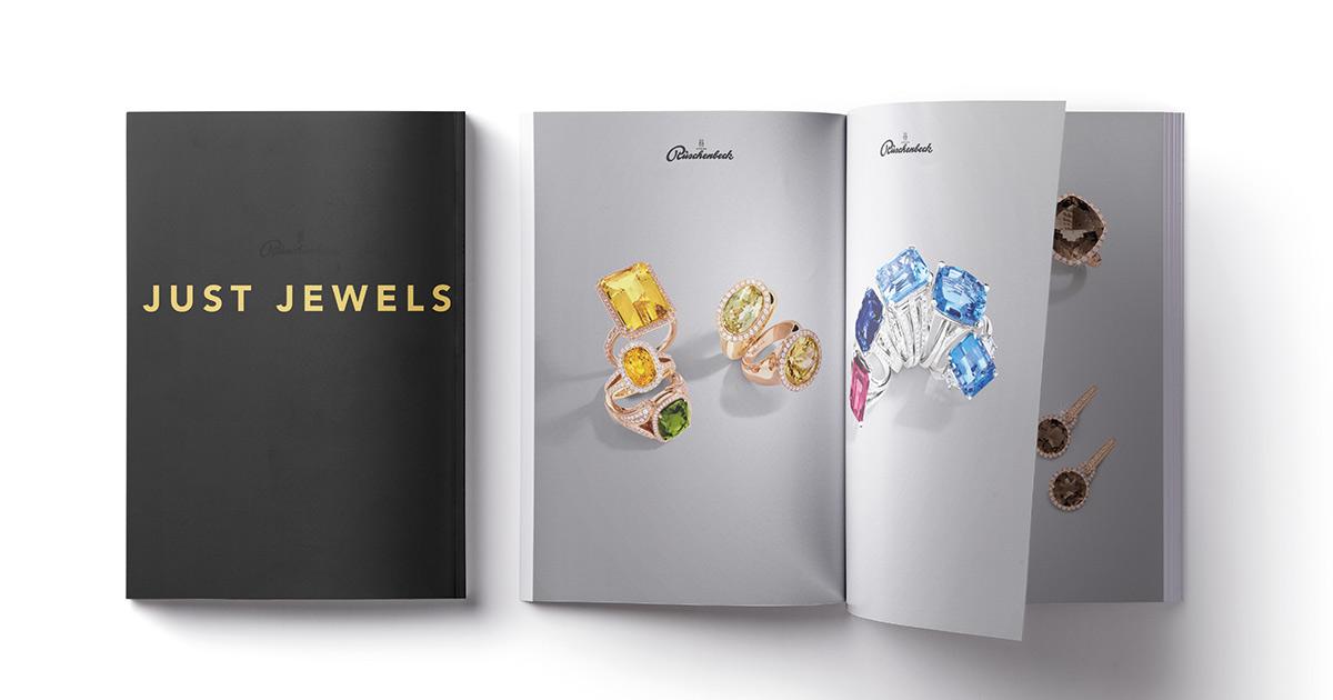 Rüschenbeck: Just Jewels. Der Profi zeigt wie eine gelungene Printproduktion aussehen kann.