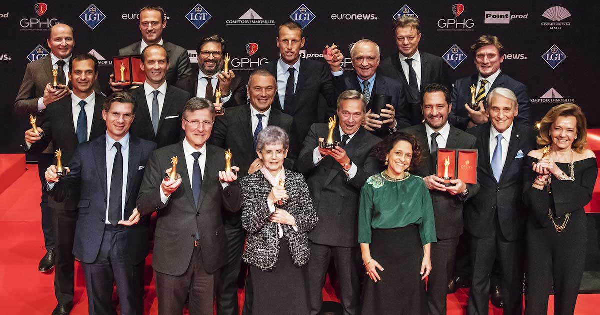 Die Gewinner des Grand Prix d'Horlogerie de Genève.