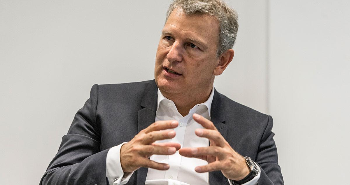 Swarovskis Deutschland-Chef Christoph Stock kann dem Säle positive Seiten abgewinnen. Der Handel erreicht in dieser Zeit Kunden, die sonst nicht gekommen wären.