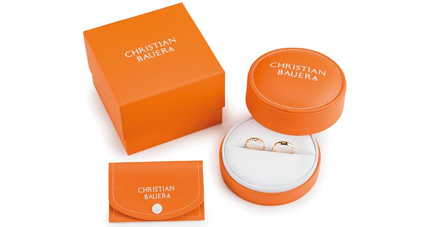 Mit neuen Verpackungen in gewohntem Orange ist Christian Bauer in die Hochzeitssaison 2018 gestartet.