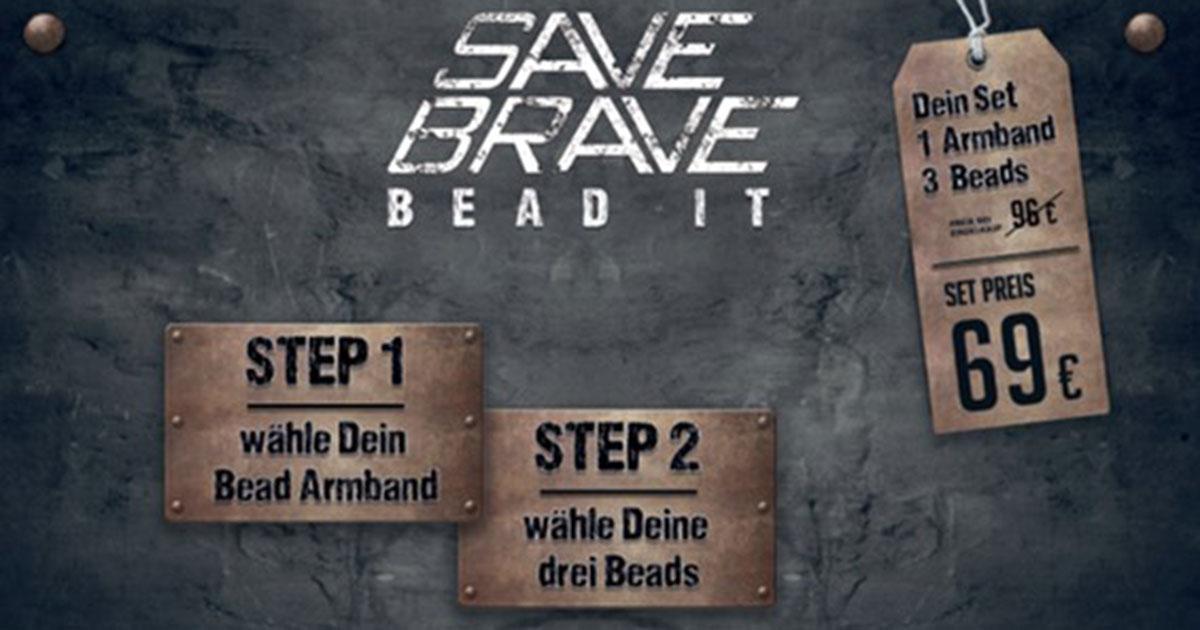 Ab sofort neu: Ein Starterset der Bead-It-Linie – bestehend aus einem Armband und drei Beads – für 69 Euro.