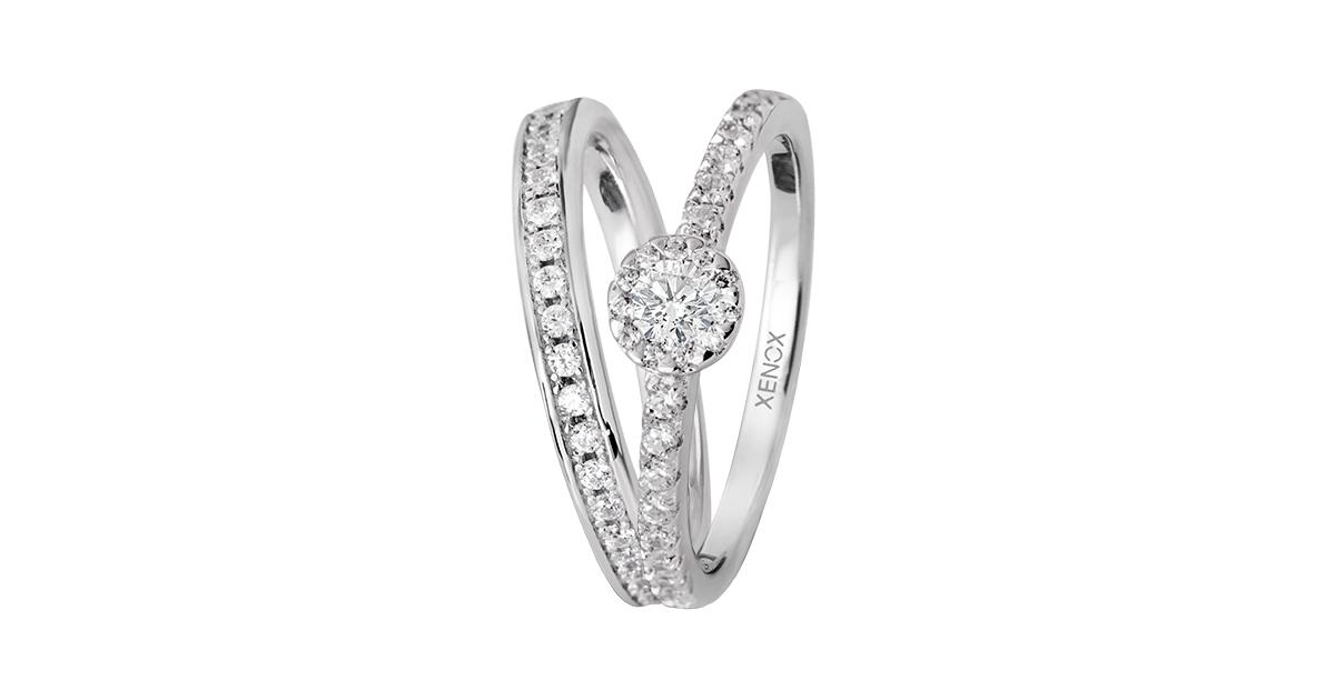 Xenox Silver Verlobungsringe Beide Vk59eur Blickpunkt Juwelier