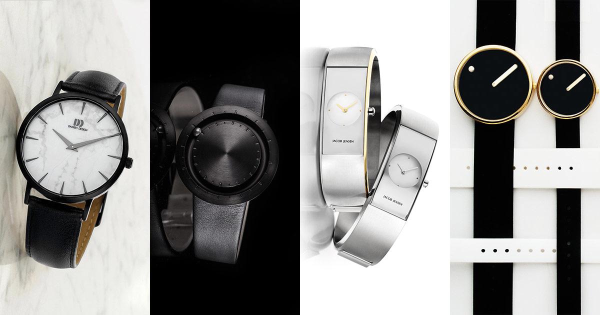 Filius Zeitdesign: Mit von der Partie sind nicht nur Jacob Jensen und Danish Design sondern auch Lavaro Abacus und die Uhrenmarke mit dem Balkenstrich Picto.