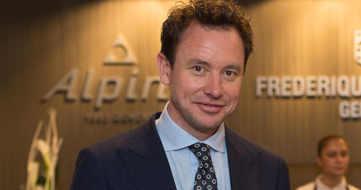 Niels Eggerding, der neue Chef von Frederique Constant.