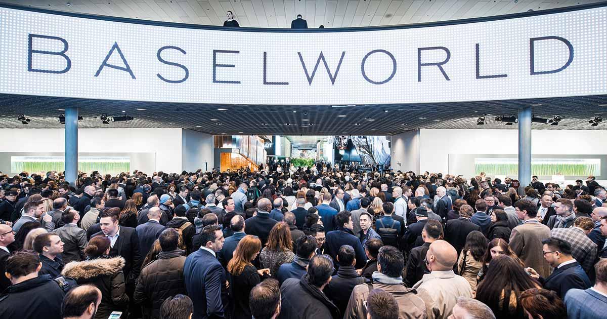 Statt wie bisher 1700 kommen in diesem Jahr nur noch etwas mehr als 600 Aussteller zur Baselworld.