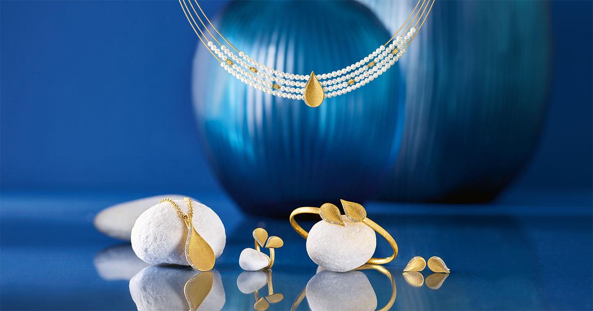 Auch in diesem Jahr setzt Bernd Wolf auf strahlende Gelbvergoldung, für die das Unternehmen aus dem Schwarzwald bekannt ist.