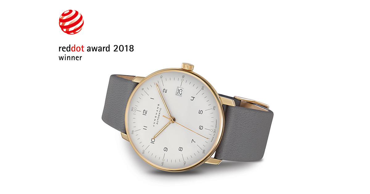 Red Dot Award: And the winner is ... die Junghans max bill Automatic.
