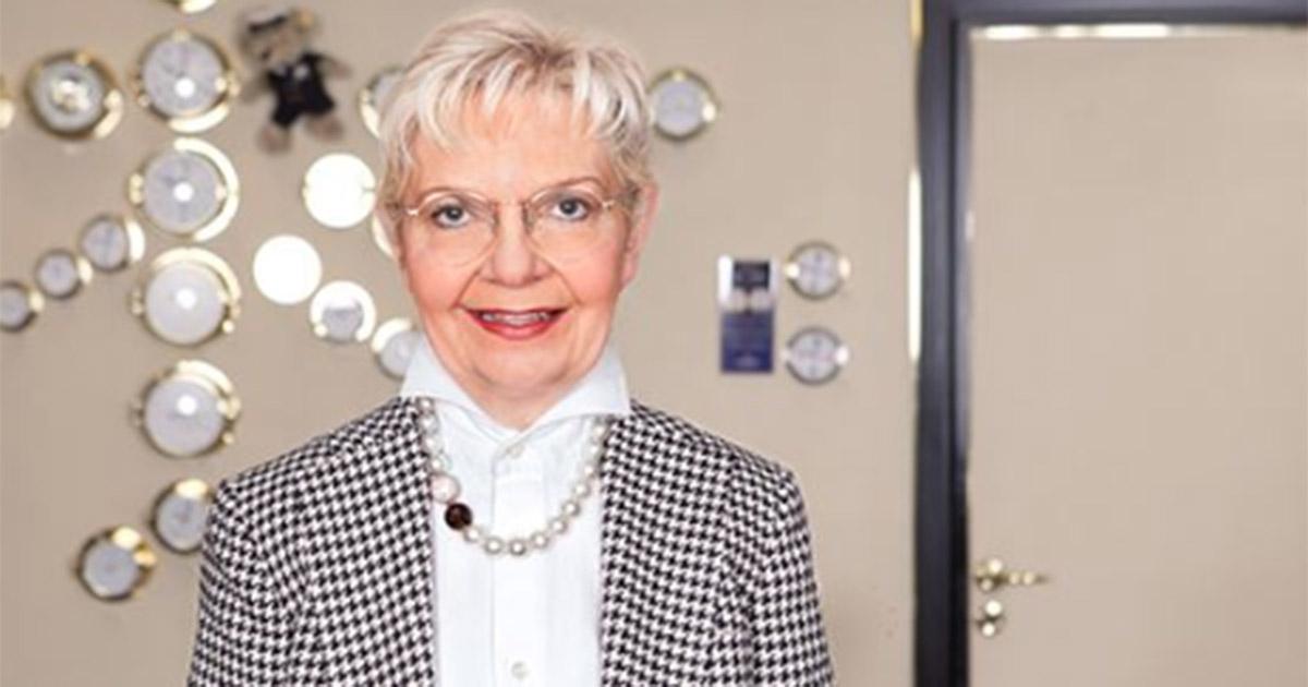 Christa Kubsch war 48 Jahre für Juwelier Wempe tätig.
