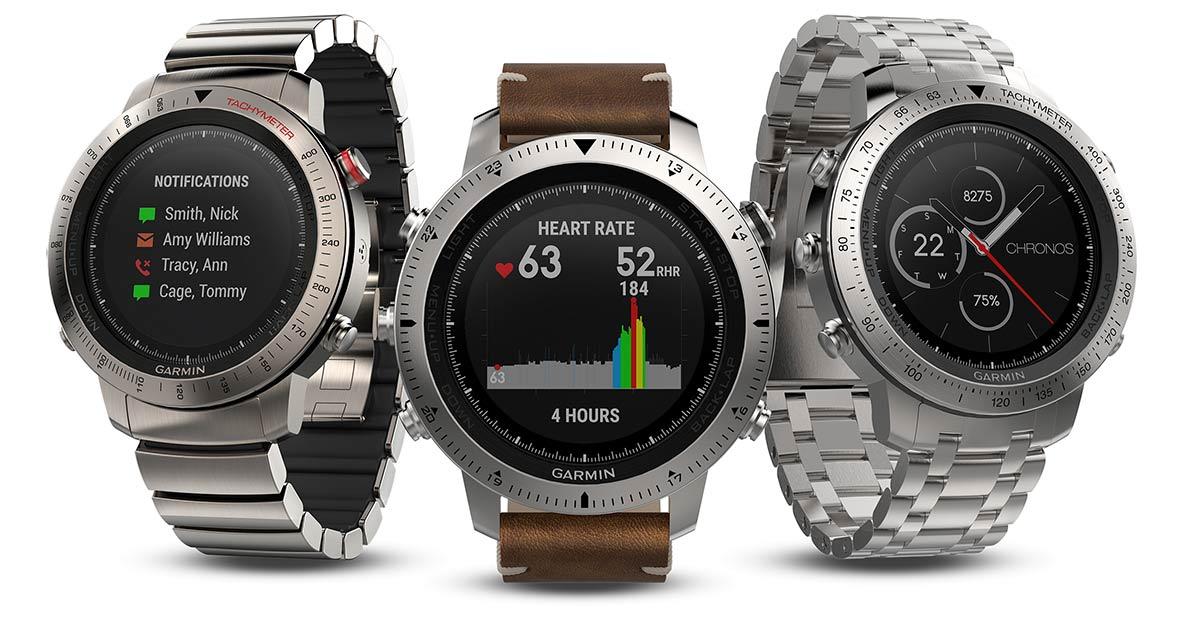 Am Markt gefragt wie nie: Smartwatches von GARMIN .