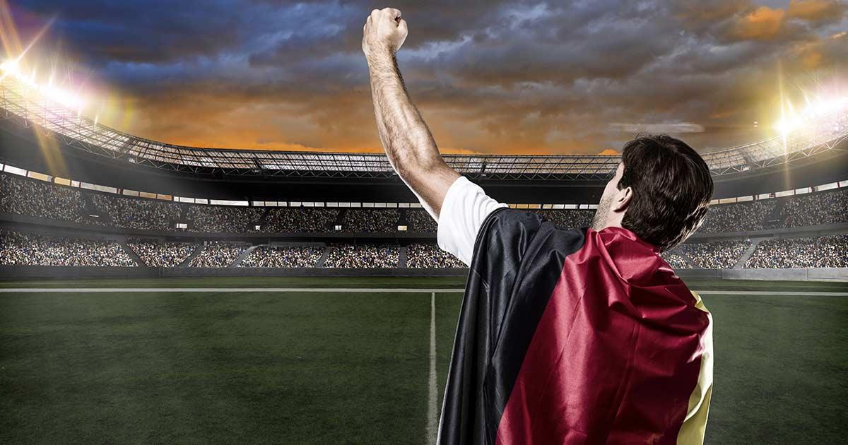 Wird Deutschland wieder Fußball-Weltmeister? Spätestens der 15. Juli wirds zeigen. | © istockphoto
