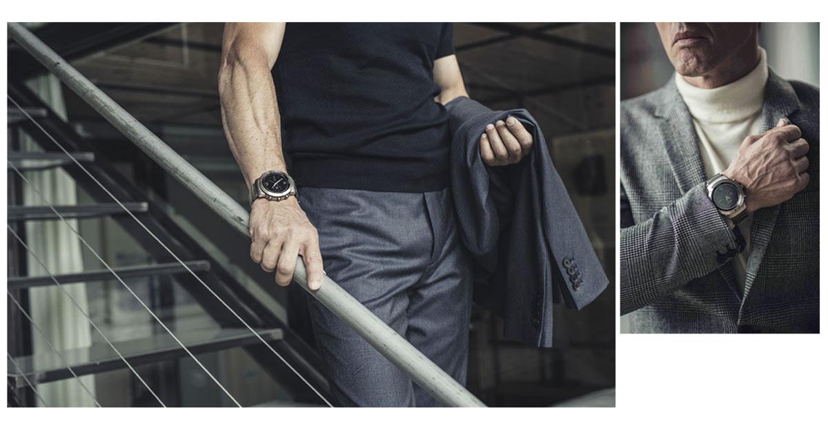 Business oder sportlich? Garmin kann beides und bietet Premium-Varianten für den Juwelier an.