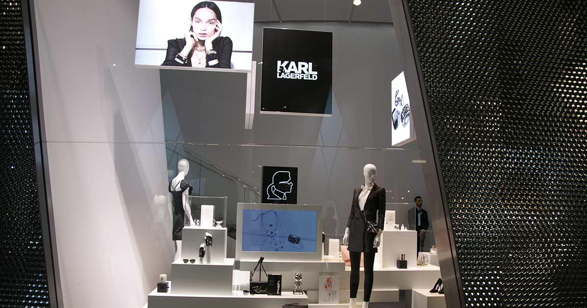 Auf der Baselworld 2017 wurde Karl Lagerfeld-Schmuck von Swarovski präsentiert, 2019 sollen die Uhren vorgestellt werden.