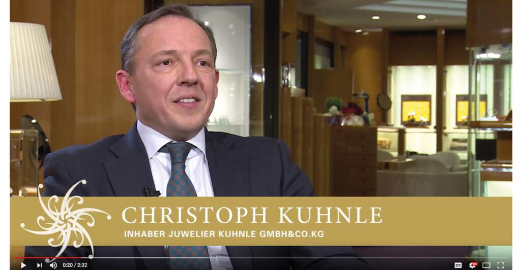 Juwelier Christoph Kuhnle setzt online und im Geschäft auf Vintage.