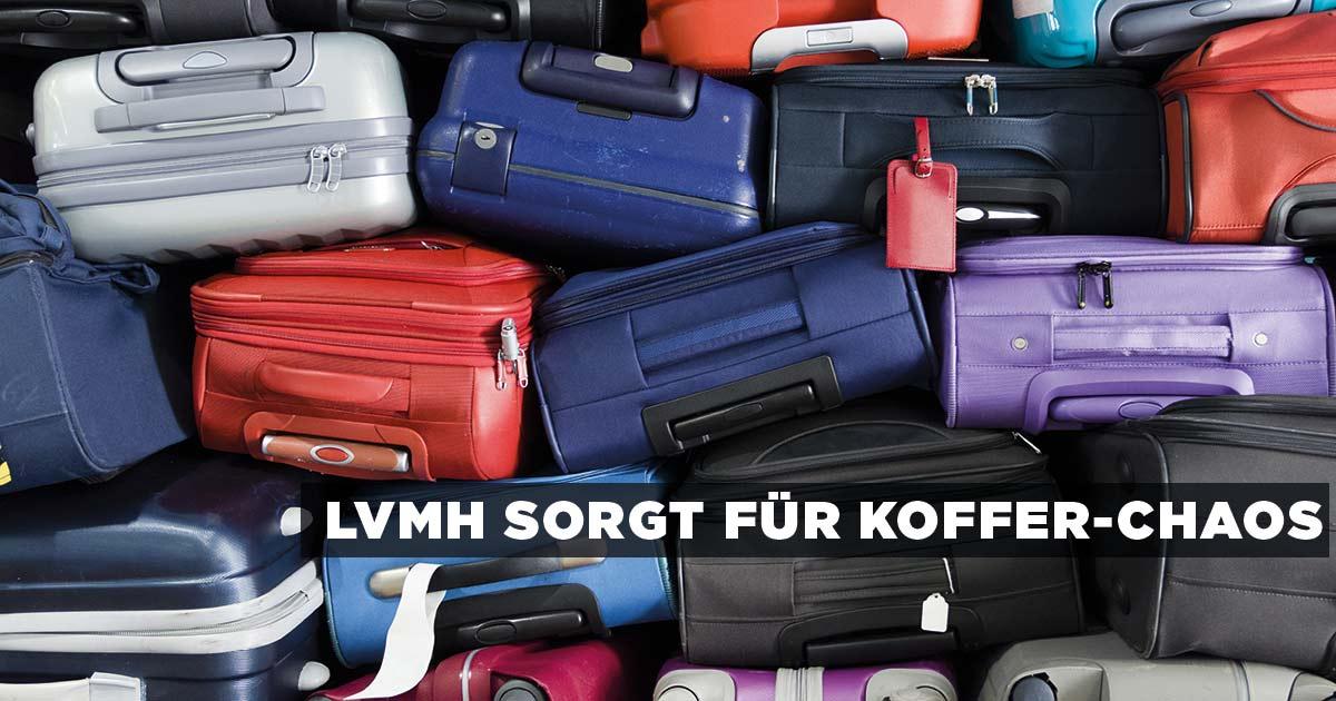 LVMH lässt die Koffer-Bombe platzen und kündigt alle Rimowa-Händler. Das kommt Ihnen bekannt vor? In Zukunft kann sich wohl kein Händler, egal in welcher Branche, einer langfristigen Partnerschaft mit großen Marken sicher sein. (Bild: Shutterstock | Maurizio Milanesio)