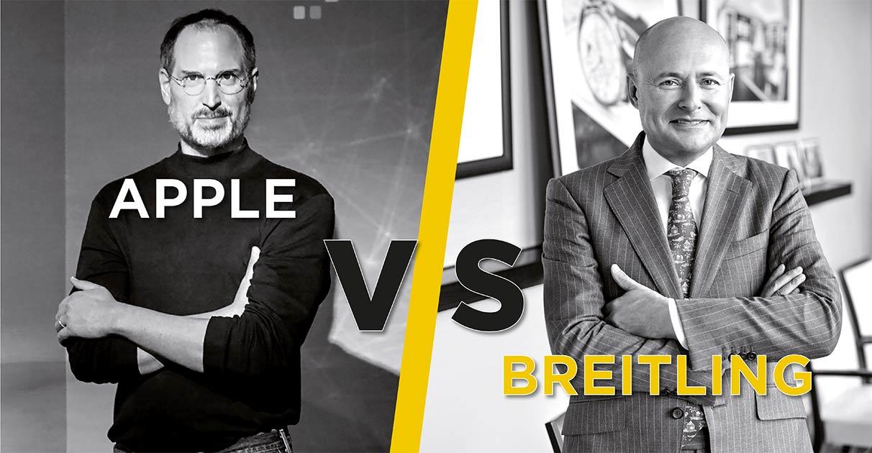 Was haben Steve Jobs und Georges Kern gemeinsam? Beide inszenier(t)en sich und ihre Marke und geben bzw. gaben ihr ein Gesicht.