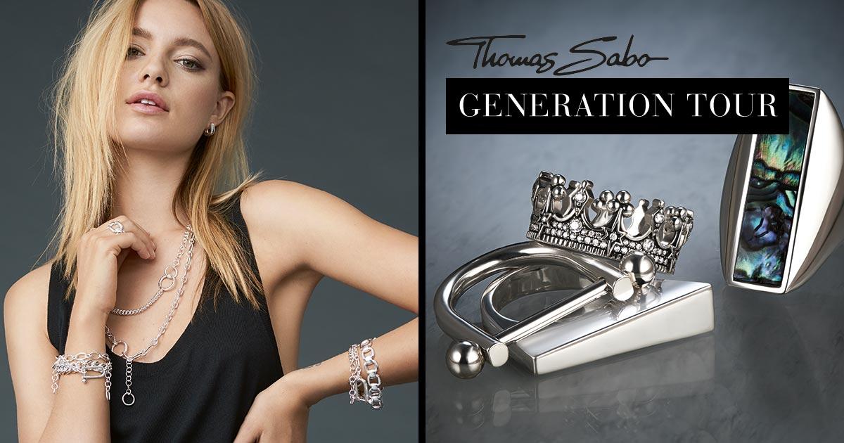 Thomas Sabo Generation Tour 2018 – auch in Ihrer Nähe!