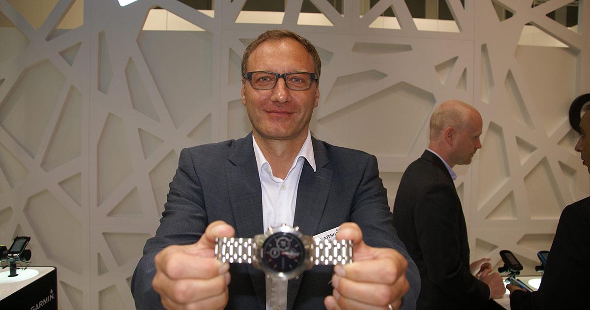 Kai Tutschke, Managing Director Garmin DACH.