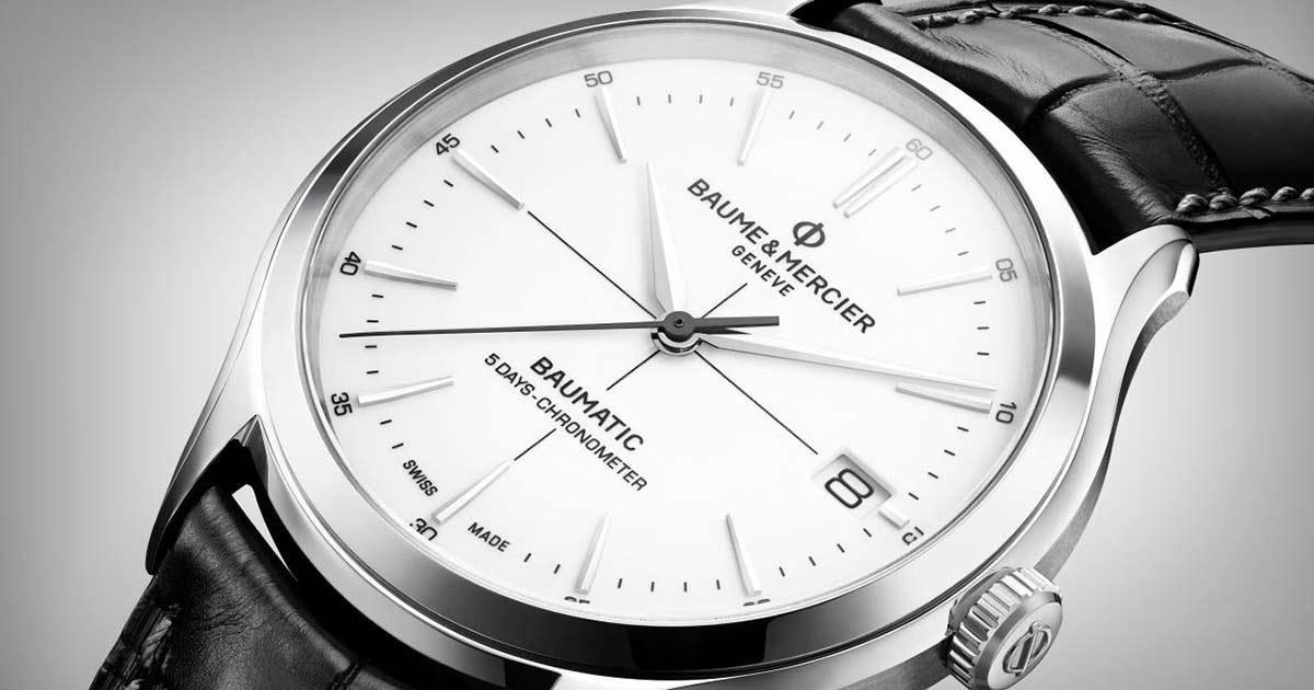 Das Baumatic-Kaliber von Baume & Mercier kommt im September in den Handel.