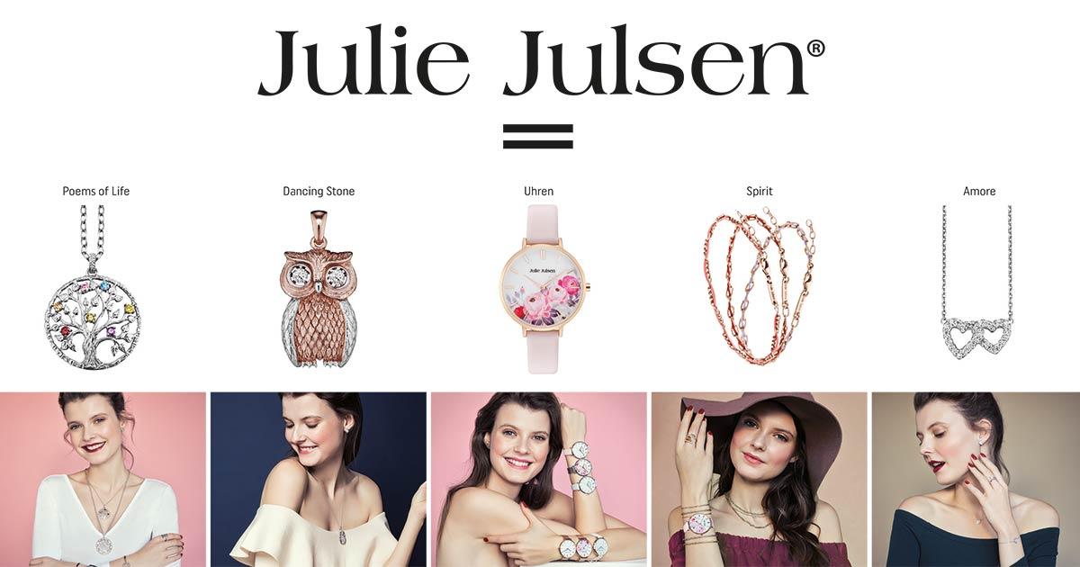 Mit 5 Säulen bietet Julie Julsen dem Handel starke Konzepte.