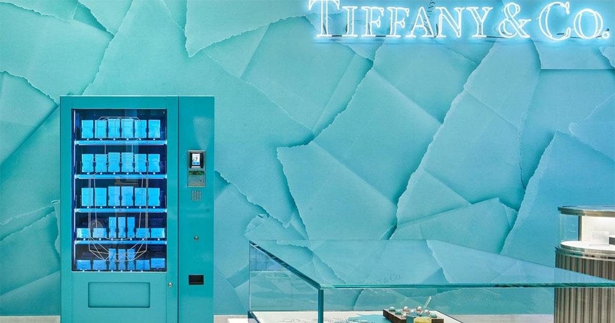 Parfümflakons von Tiffany & Co. gibt´s jetzt aus dem Automaten.