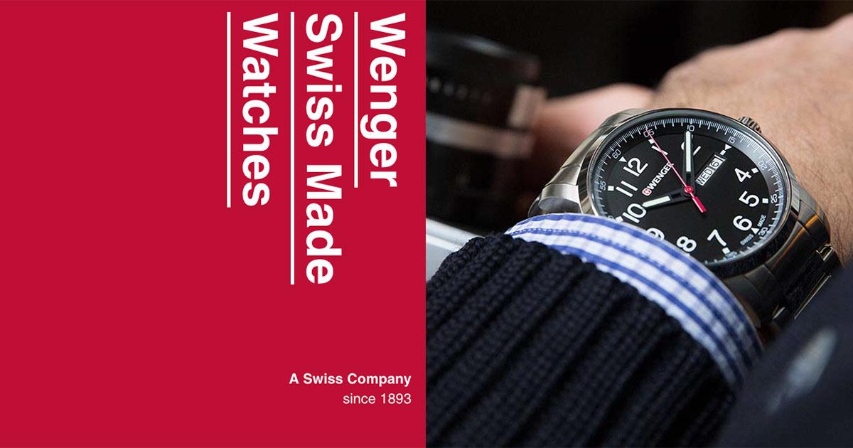 Die Marke Wenger steht für Swiss Made-Uhren ab unter 100 Euro.
