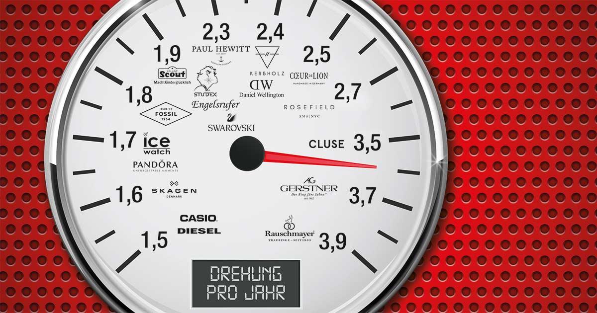 Anhand der Zahlen des Vorteilsclubs der Juweliere ist ersichtlich, welche Marken sich wie schnell drehen.