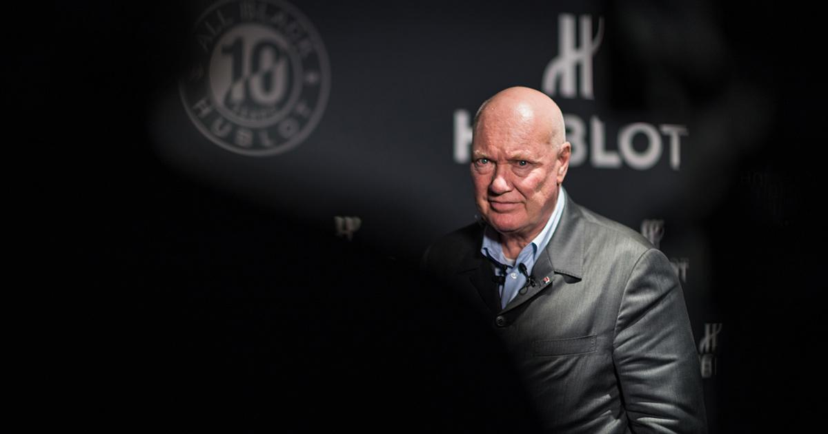 Jean-Claude Biver, Uhrenchef bei LVMH, wird in Zukunft kürzer treten.