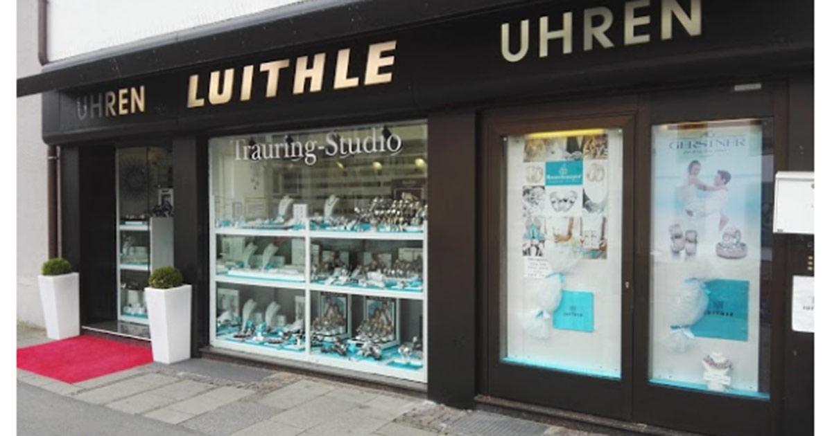 Ende des Monats schließt das Geschäft von Juwelier Luithle.