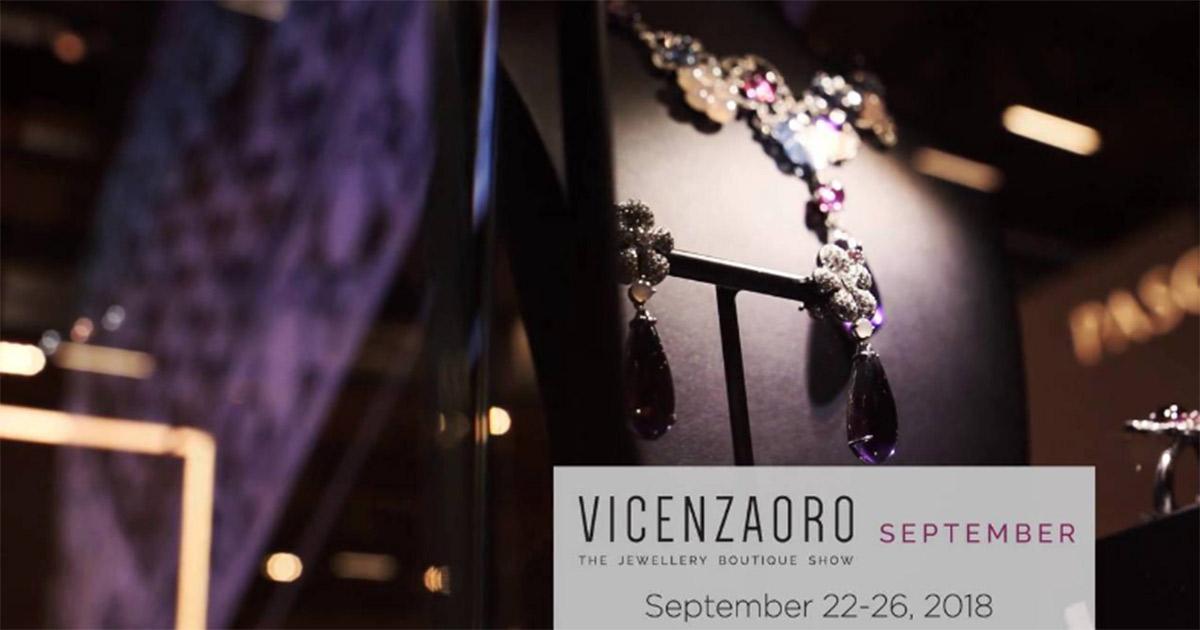 Die Vicenzaoro Septembermesse 2018 ist ausverkauft.