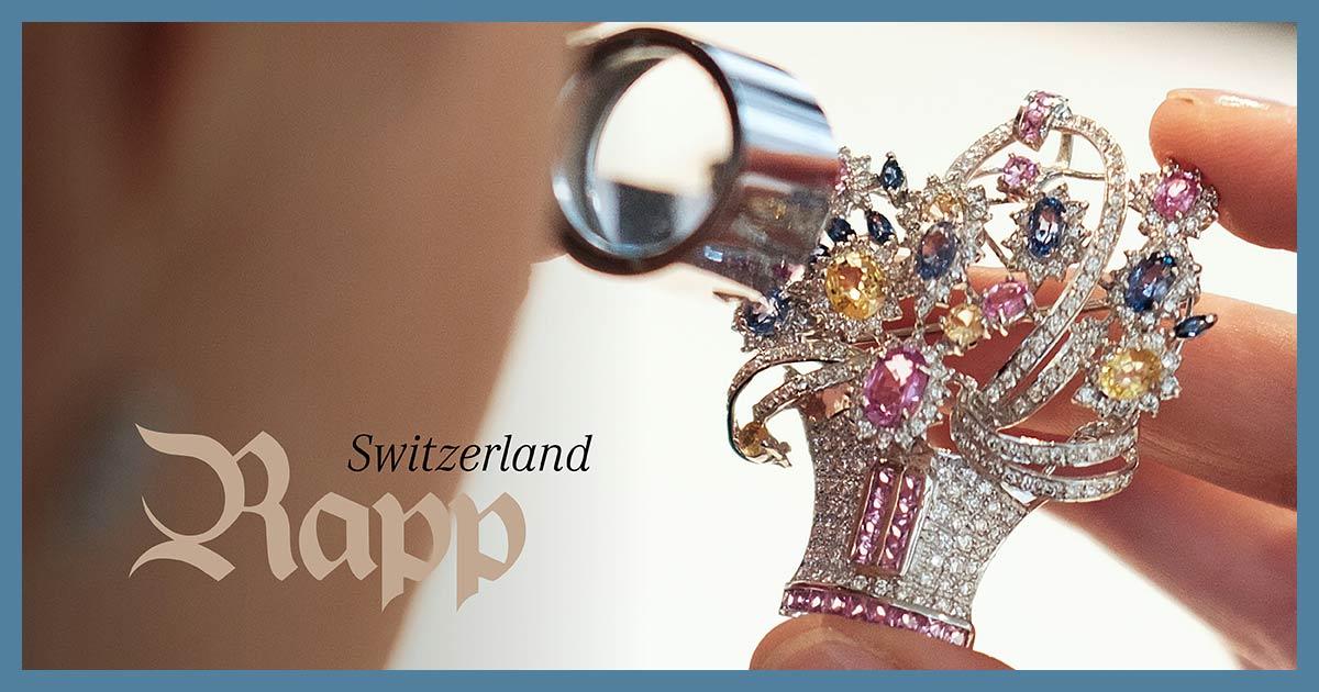 Auktionshaus Rapp sucht eine/n Gemmologen/Gemmologin