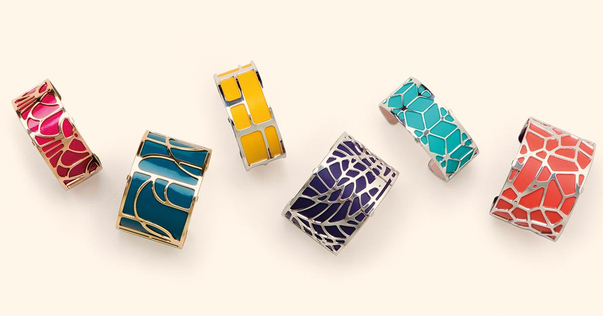 Beim Fachhandel punktet Les Georgettes mit eigener Online-Strategie – beim Konsumenten mit farbenfrohen, außergewöhnlichen Designs.