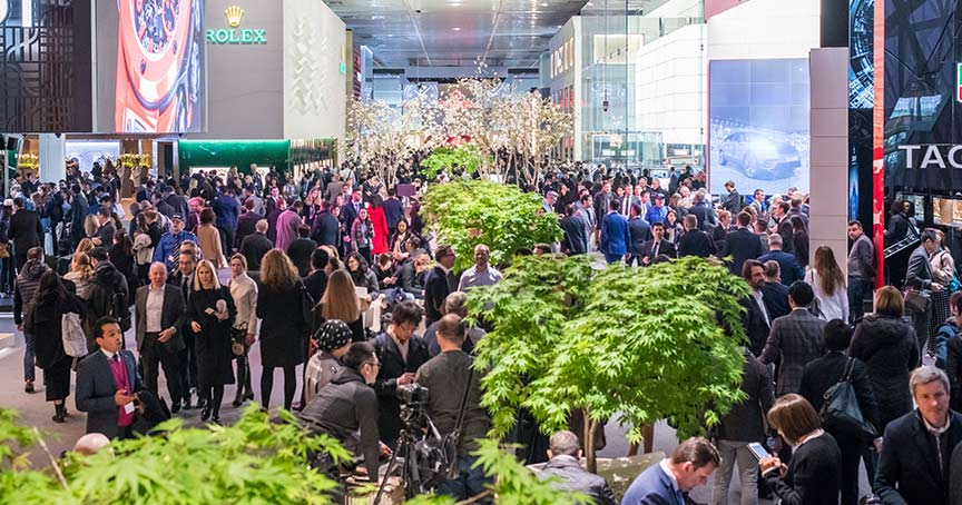 Eine neue Konzeption der Weltleitmesse Baselworld wird es erst 2020 geben. Der Platz der Swatch Group wird für die Ausweitung des Cateringangebots genutzt.