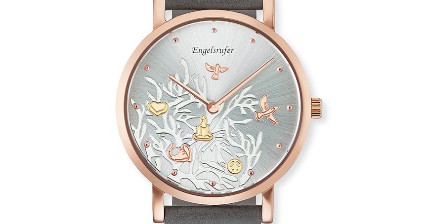 Kaum auf dem Markt, schon vergriffen: Engelsrufer meldet, dass die roséfarbene Uhr bereits ausverkauft ist.