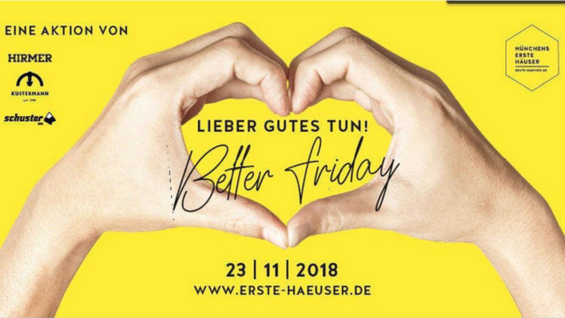 """Der """"Better Friday"""" ist eine Gegeninitiative zur Rabattschlacht am Black Friday."""