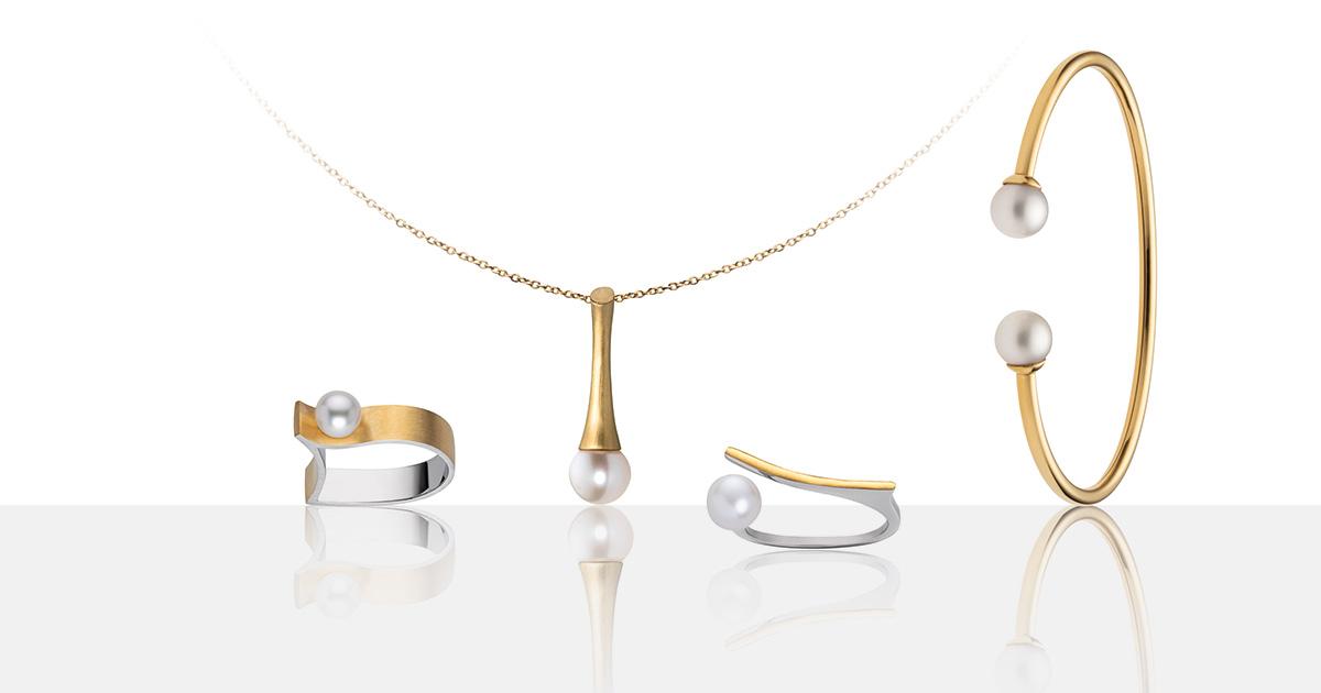 """Perlen zeitgemäß interpretiert: Die M&M """"Ocean Collection""""."""