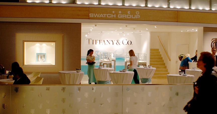 Da war die Welt noch in Ordnung: 2009 stellten Tiffany und die Swatch Group gemeinsam auf der Baselworld aus. Zwei Jahre kam es zum Rechtsstreit, der nun beendet wurde.