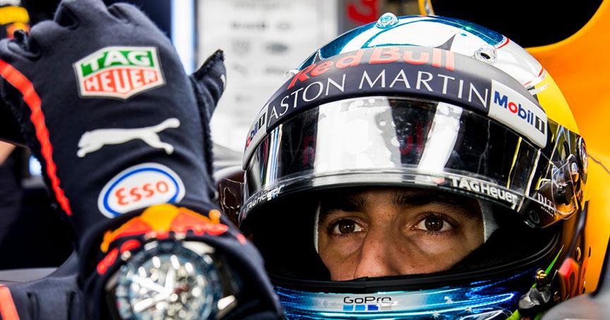 Fahren drei weitere Jahre zusammen: TAG Heuer und das Formel-1-Team von Aston Martin Red Bull Racing.